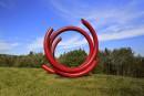 Jardin des sculptures du Domaine Forget: au pays des géants