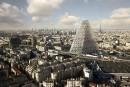 Feu vert pour un gratte-ciel en forme de pyramide à Paris