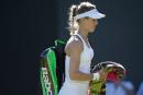 Eugenie Bouchard déjà éliminée à Wimbledon