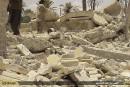 Syrie: l'EI détruit le Lion d'Athéna du musée de Palmyre