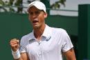 Vasek Pospisil a hâted'en découdre avec Andy Murray