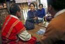 Élections en Birmanie: le parti d'Aung San Suu Kyi favori