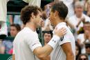 Vasek Pospisil éliminé par Andy Murray