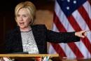 Le parti républicain doit «stopper» Donald Trump, dit Hillary Clinton