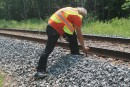 Inconcevable que des trains voyagent sur ces rails, dit un spécialiste