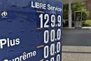 Hausse de 12 cents du prix de l'essence à Québec