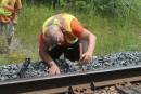 La CMQ n'apprécie pas les «intrus» sur ses voies ferrées