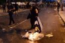Échauffourées dans les rues d'Athènes avant le début du vote