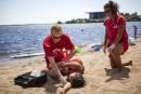 Semaine de prévention de la noyade: l'Aquabrigade invite les baigneurs à la prudence