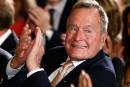 George H. W. Bush sort de l'hôpital après une fracture