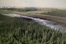 Déversement en Alberta: les Autochtones demandent que toute trace soit éliminée