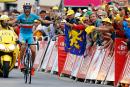 Tour de France: Vincenzo Nibali sauve l'honneur