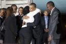 Le président Obama est arrivé au Kenya, pays de son père