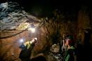Parc de la caverne du Trou de la fée: visite dans l'antre de la grotte