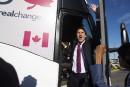 «Justin» Trudeau refuse de mordre à l'hameçon de Stephen Harper