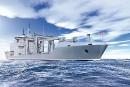 Navire ravitailleur pour la Marine:Ottawa s'entend avec la Davie