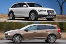 Audi A4 Allroad c. Volvo V60 Cross Country: familiales «nouveau genre»