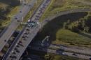 Une portion de l'autoroute Laurentienne fermée en fin de semaine