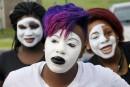 Marche à Ferguson avant le premier anniversaire de la mort de Michael Brown