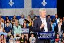 De passage à Québec, Stephen Harper défend le bilan conservateur