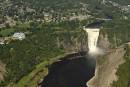 Un tunnel sera creusé derrière la chute Montmorency