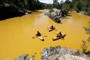 Des rivières polluées virent à l'orange dans l'ouest américain