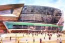 Construction de l'amphithéâtre: un coup de main américain
