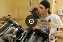 Kevin Lauzière, batteur quadriplégique
