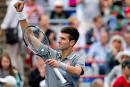 NovakDjokovic l'emporte en moins d'une heure