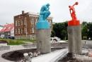 L'audacieuse sculpture de Cooke-Sasseville se dévoile dans Beauport