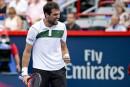 Coupe Rogers: Chardy et Djokovic font preuve de résilience