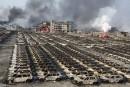 Tianjin: délicates opérations pour nettoyer des tonnes de cyanure