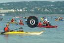 Défi kayak Montréal-Québec: le pari fou du musicien pagayeur