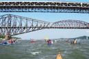 Défi kayak Montréal-Québec: charmés par le Saint-Laurent