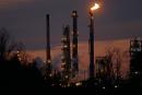 Le pétrole finit en hausse à 46,75 $ le baril