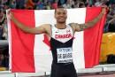 Du bronze à saveur d'or:De Grasse troisièmeau 100m des Mondiaux d'athlétisme