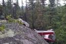 Écrasement d'un hydravion sur la Côte-Nord: unimpact «à la verticale»
