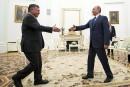 Abdallah II et Poutine discutent Syrie en marge d'un salon aéronautique