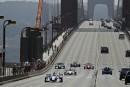 Des pilotes défilent sur le Golden Gate en hommage à Justin Wilson