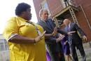 George W. Bush à La Nouvelle-Orléans, dix ans après <em>Katrina</em>