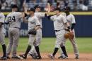 Les Yankees écrasent les Braves 20-6