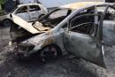 Autos incendiées à Brompton: le SPS a demandé que des expertises soient faites
