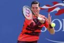 Milos Raonic au 2e tour,Kei Nishikori éliminé