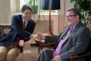 Trudeau à Québec: pas de promesses, mais une salle remplie