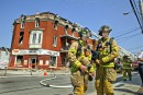 Incendie d'origine criminelle dans le Vieux-Hull