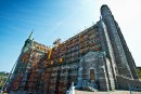 Restaurations monumentales: la cathédrale se refait une beauté