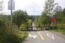 Le tronçon de piste cyclable reste fermé à Magog