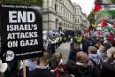 La visite deNétanyahou à Londres provoque de vives manifestations