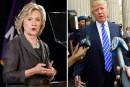 Donald Trump toujours plus haut, Hillary Clinton encore plus bas
