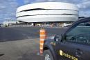 Ambiance fébrile avant l'ouverture du Centre Vidéotron